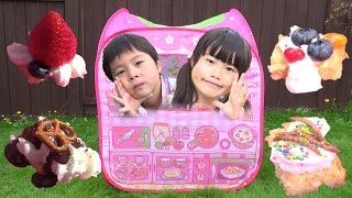 ケーキ屋さんごっこ メルちゃん おうちでお店屋さんごっこ こうくんねみちゃん Cake shop play shopping Play House