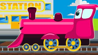 Colors for Children to Learn with Kids Trains - Colors Videos Collection for Children