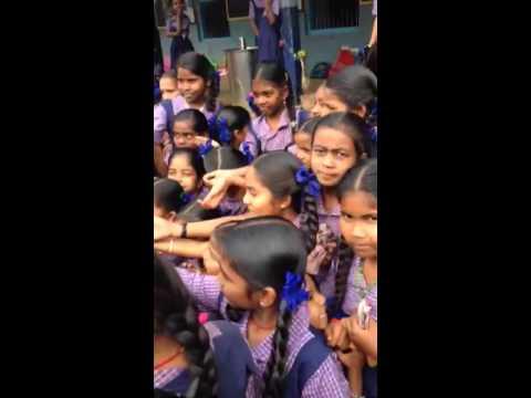 Indian school girls!