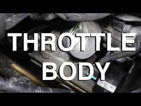 How to Replace and Clean a Throttle Body Assembly