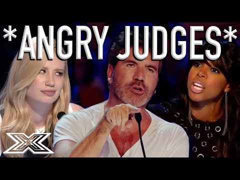 When X Factor Judges Get ANGRY X Factor Global
