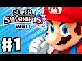 Download Video Download Super Smash Bros. Wii U - Gameplay Walkthrough Part 1 - Mario! (Nintendo Wii U Gameplay) 3GP MP4 FLV