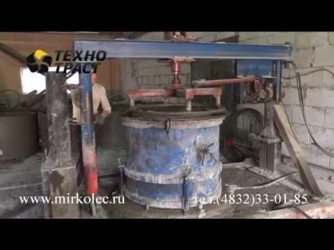 Вибропресс по производству железобетонных колодезных колец КС7.9,КС10.9,КС15.9,КС20.9 - song99.online