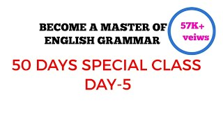Become a master of English Grammar  50 days special class II DAY 5 II superfluous sentences & slang