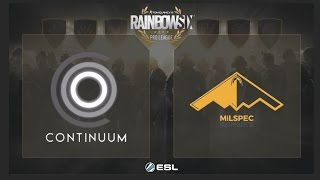 Download Continuum vs. MiLSPEC - Rainbow Six Pro League on PC - NA - Playday 6 3Gp Mp4