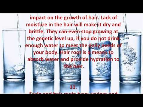 Benefits of Water For the skin, hair and health