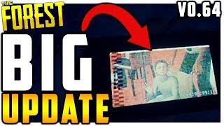 The Forest | BIG UPDATE | MEGANS DEATH | VHS TAPES | v0.64