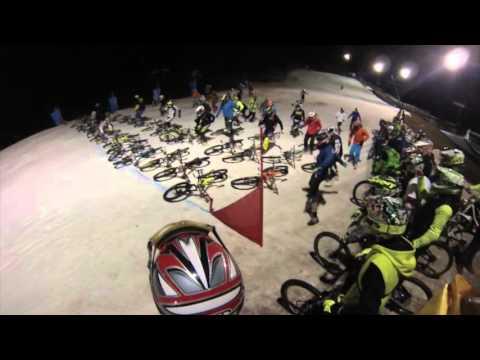 BIKE TO HELL Downhill Snow Mountain Biking Race Prato Nevoso (MauryX)