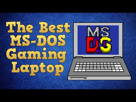 How to pick the best gaming laptop for MS DOS games.