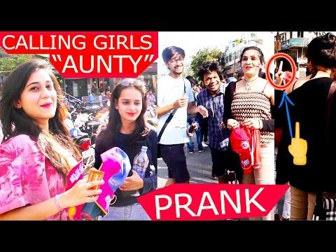 Calling cute girls AUNTY prank   IPL Prank   Pranks in India   Prank in Indore   ft. TheVirtualFunk