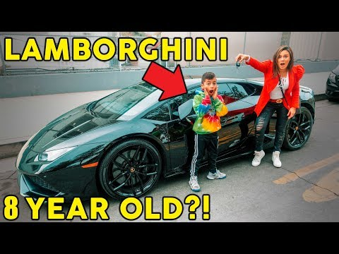 Xxx Mp4 Our 8 Year Old Son Finally Got His LAMBORGHINI HIS DREAM CAME TRUE The Royalty Family 3gp Sex