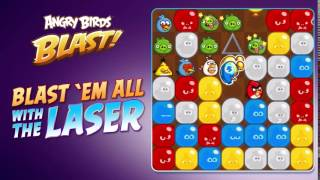 Angry Birds Blast - The Laser Booster