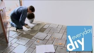 How to Install a Tile Floor -- Buildipedia DIY
