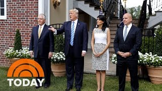 President Trump Warns 'Big Trouble In North Korea' If Guam Is Attacked | TODAY
