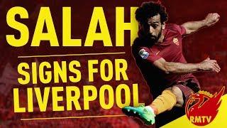 Mohamed Salah Signs For Liverpool! | Breaking News