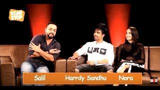 Harrdy Sandhu and Nora Fatehi ( Exclusive Interview )   B4U Star Stop