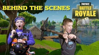 Nerf War:  Fortnite Battle Royale In Real Life Behind the Scenes