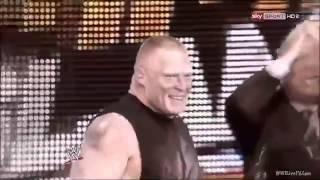 WWE Summerslam 2012 - Triple H Vs Brock Lesnar Promo