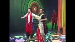 Recitation of Shimul Mustafa and Dance Performance of Sampriti and Tushar on Projonmo Agami