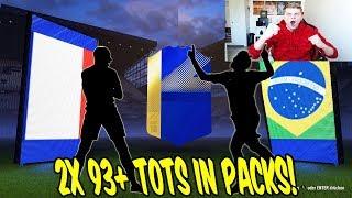 2x 93+ TOTS! 🤑🤑 Extrem krankes PACK OPENING eskaliert mit WALKOUTS! 😱 FIfa 18 Ultimate Team
