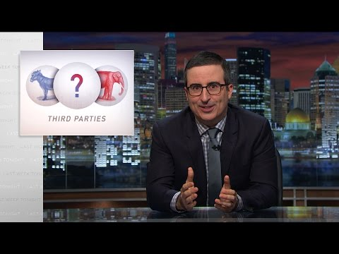 Third Parties Last Week Tonight with John Oliver HBO