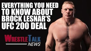 CM Punk Fight Set? Brock Lesnar 'Arm Wrestled' Vince McMahon For UFC Deal! | WrestleTalk News