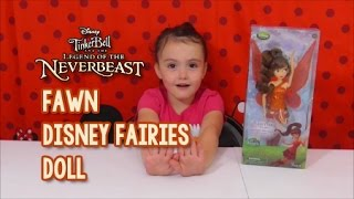Disney Store Fawn Doll Review - Disney Fairies - Tinker Bell and the Neverbeast