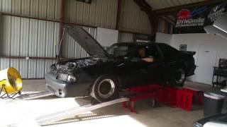 1990 mustang hatchback gt dyno pull