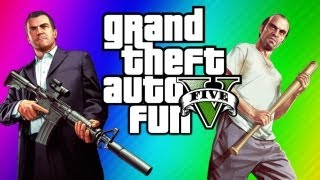 GTA 5 Funny Moments - Ultimate Workout, Jimmy Clone Glitch, Yoga, Torture, Chop (GTA 5 Gameplay)
