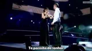 Tiziano Ferro e Laura Pauzini (Non me lo so Spiegare ( Legenda /Tradução PT)