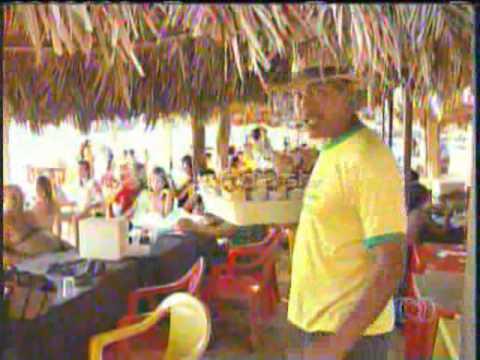 Comerciantes reclamam do baixo movimento nas praias de Palmas.BD-TO.21/07/2014
