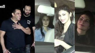Salman Khan 53rd BIRTHDAY FULL NIGHT PARTY 💃🍰 Katrina, Jacqueline, Bobby, Sunil Grover