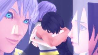 [ Kingdom Hearts MMD ] Riku and Xion - Thunder Scene in 60 fps
