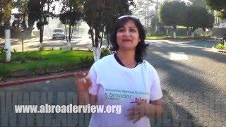 Video Review Volunteer Sarwat Patel in Guatemala Xela PreMed Program