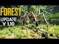 Gleiter, Armbrust, Neue Gegner & MEHR! The Forest XXL UPDATE 1.10
