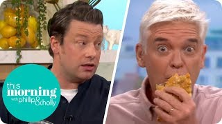 Jamie Oliver's Veggie Meals | This Morning