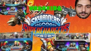 Unboxing Skylanders Superchargers Dark Edition Wii WiiU PS4 ITA