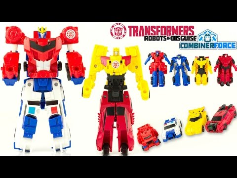 Transformers Combiner Force Robots In Disguise Optimus Prime Jouet Toy Review