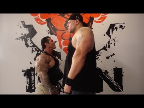 6'11 380LB MONSTER - BIG JOE - M*THER F*CKING ARM DAY - MONSTERS DO EXIST