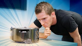 This Robot Vacuum SUCKS (Get it?) - Dyson 360 Eye Showcase