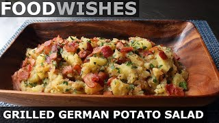 Grilled German Potato Salad - Food Wishes