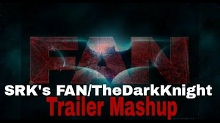 SRK's FAN Trailer Spoof    The Dark Knight Trailer Mashup