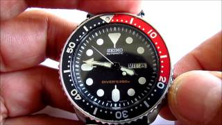 Seiko Scuba  Diver