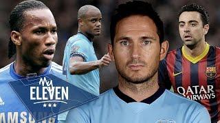 Frank Lampard picks his greatest ever team | Drogba, Xavi, Messi & More!