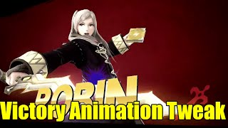 Female Robin's Victory Pose Gets Slightly Changed In Latest Patch For Super Smash Bros Wii U