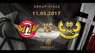 [11.05.2017] SKT vs GAM [MSI 2017][Group Stage]