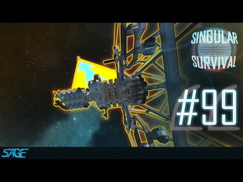 Space Engineers, The Search for Silver (Singular Survival, Ep 99)