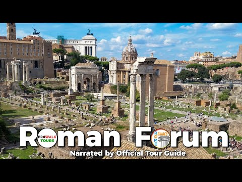 Roman Forum Guided Tour Narrated by Official Tour Guide