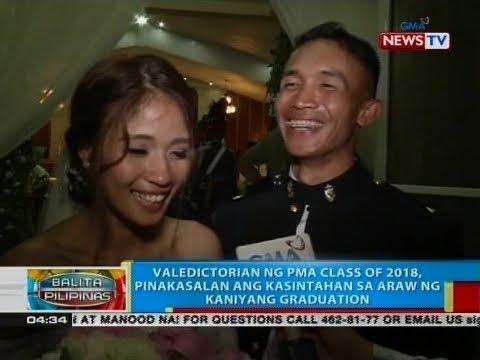 Xxx Mp4 BP Valedictorian Ng PMA Class Of 2018 Pinakasalan Ang Kasintahan Sa Araw Ng Kaniyang Graduation 3gp Sex