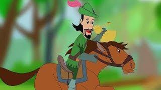 Robin Hood and the Golden Arrow - Animated Cartoon Full Movie - Bedtime Stories